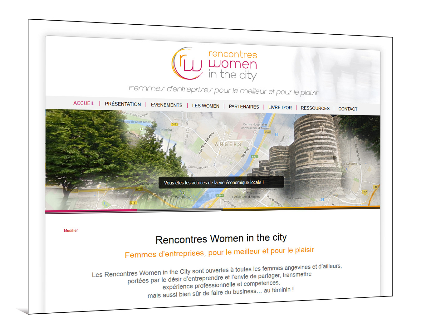 Site internet de Rencontres Women in the City : www.rencontreswomeninthecity.com
